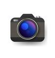 Camera icon flat photo camera isolated modern