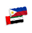 flags united arab emirates and philippines