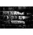 grunge retro texture brick wall vector image
