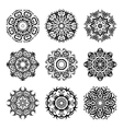 MandalaVintage pattern set vector image vector image