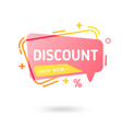 modern abstract sale banners special offer vector image vector image