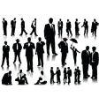 People silhouettes vector | Price: 1 Credit (USD $1)
