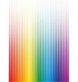 Rainbow halftone vector image