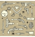 Weapons Set vector image vector image