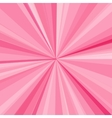 Pink rays background for your bright beams design vector image
