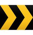 Seamless Yellow Black Arrow vector image