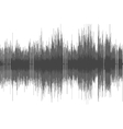 Abstract digital sound wave background vector image