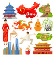 china chinese culture in asia and great vector image