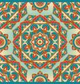 colorful pattern of mandalas vector image