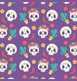 day dead mexican celebration culture vector image vector image