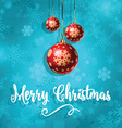 merry christmas background 1210 vector image vector image