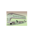 Old bus vector image