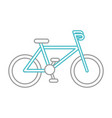 Sport bicycle vehicle vector image