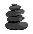 zen stones vector image