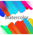 Abstract acrylic painted background vector image vector image