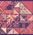 boho violet background vector image vector image