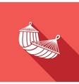 hammock icon vector image vector image