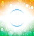 India background abstract Indian flag vector image