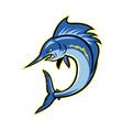 Sailfish Swordfish Jumping Cartoon vector image vector image