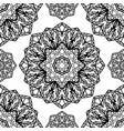 abstract pattern mandalas vector image vector image