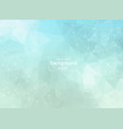 abstract polygonal space blue background with vector image