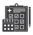 appointment scheduler icon vector image