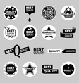 Collection of icons of quality assurance