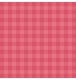 Flat easy tilable red gingham repeat pattern print vector image