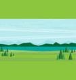 natural landscape vector image
