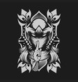 ninja female vector image vector image