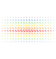 search spectral halftone array vector image vector image