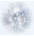 Silver light background vector image vector image
