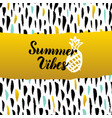 summer vibes hand drawn design vector image vector image