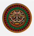 traditional polynesian tattoo vector image vector image