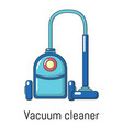 vacuum cleaner icon cartoon style vector image vector image