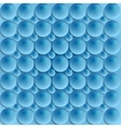 Blue circle bubbles design vector image