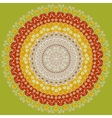 Colorful round ornate vector image vector image