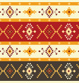 ethnic seamless pattern geometric design vector image vector image