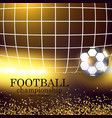 football abstract background design template for vector image