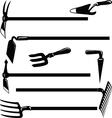 Garden tools- vector image