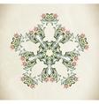 Hand Drawn vintage floral ornament vector image vector image