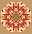 mandala round ornament patternelement for design vector image vector image