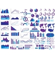 NEW STYLE WEB ELEMENTS INFOGRAPHIC DEMOGRAPHIC vector image vector image