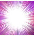purple psychedelic abstract ray burst background vector image vector image