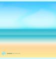 summer season landscape blurred background vector image vector image