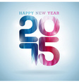 Happy New Year 2015 colorful celebration backgroun vector image