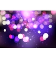 Colorful bokeh background Blurred light vector image vector image