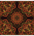 Dark pattern of mandala vector image vector image