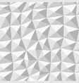 grey geometric seamless pattern from triangles vector image vector image