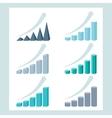set infographic diagram elements for design vector image